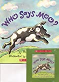 img - for Who Says Moo? Book and Audio CD Set (Paperback) book / textbook / text book