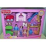 Fisher Price Loving Family Dollhouse Backyard Fun Playset