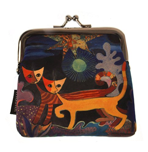 Wonderland - Two Cats Coin Purse designed by Rosina Wachtmeister