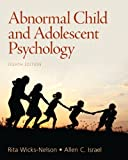 img - for Abnormal Child and Adolescent Psychology (8th Edition) book / textbook / text book