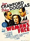 a womans face poster movie b 11x17 joan crawford conrad veidt melvyn