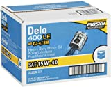 Chevron QT-15W40-CASE Delo 400 LE SAE 15W-40 Motor Oil - 1 Quart Bottle, (Pack of 12)