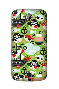 ZAPCASE PRINTED BACK COVER FOR Acer Liquid 530