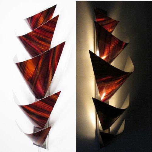 Modern Abstract Metal Wall Art Sculpture