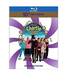 Charlie and the Chocolate Factory 10th Anniversary [Blu-ray]