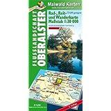 Oberalster = Rad-, Reit- und Wanderkarte - Flusslandschaft Oberalster: 1:30.000 - GPS geeignet - Kartennetz: Gaus-Krüger-Projektion auf WGS 84