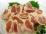 【いい肉屋】当店特製■とりわさ 特製しょうゆたれ・わさび付[1袋・4本入]☆お刺身でどうぞ★ヘルシーな鶏肉♪