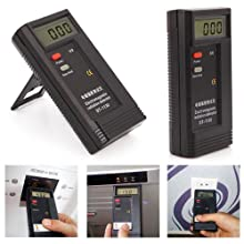 HDE DT-1130 Portable Digital Environmental Electromagnetic Radiation EMF Meter Tester Paranormal Ghost Hunting Investigation - Frequency Range 50Hz ~ 2000MHz