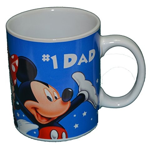 Authentic Disney Mickey Mouse & Friends #1 Dad 11Oz Coffee Mug Cup