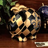 NFL New Orleans Saints Resin Large Thematic Piggy Bank