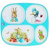 Peter Rabbit Melamine 4 Compartments Plate