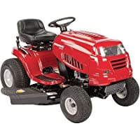 "42"" 19.5 HP Briggs and Stratton Riding Mower with Automatic Pedal Drive System, Red by Murray"