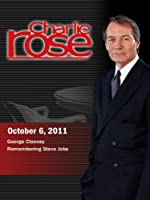 Charlie Rose - George Clooney / Remembering Steve Jobs (October 6, 2011)