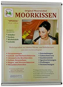 Original Moorwichtel Uni Moorkissen Spezial, schwarz, 0016