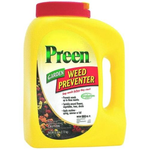 Best price with preen garden weed preventer 5 6 lb 2463795 onsale gardening weed killers for Grass killer for vegetable gardens
