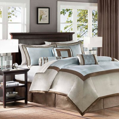 Madison Park Genevieve 7 Piece Comforter Set Size: King front-155937