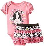 Disney Baby Baby-Girls Newborn Cinderella Bodysuit and Skirt Set