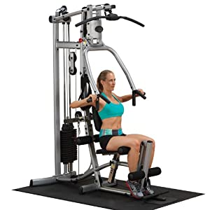 ... P1X Single Stack Home Gym : Arm Curl Machine : Sports & Outdoors