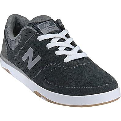 New Balance # Stratford Skate Shoe - Men's Pirate Black/Micro Grey, 8.0