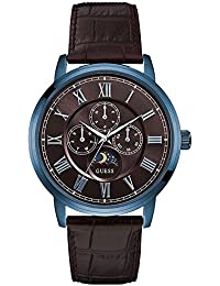 Guess Analog Brown Dial Watch For Mens -W0870G3