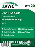 Miele GN Dust Bags Type S5211 (Pack Of 20) by ZVac