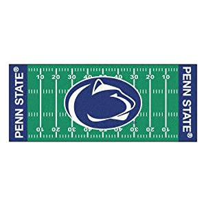 FANMATS NCAA Penn State Nittany Lions Nylon Face Football Field Runner by Fanmats