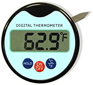 Digital Meat Thermometer With Probe. Lifetime Warranty. BBQ Grilling Cooking &... by Chef Amori