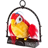 Repeat Parrot Toy (Repeats What You Say) Large Red