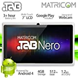 "7"" Matricom .TAB Nero Tablet PC - Android 4 Capacitive Multi-Touch 4GB (White)"
