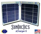 51hOJwFU9IL. SL160  The sCharger 5 is a Powerful Compact Solar Charger that can Both Charge and Actually Run At The Same Time iPod, iPhone(3, 4, & 4S), Droids, HTCs, Samsung, eReaders, and Many Other Portable Devices Directly from the Sun