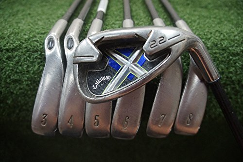 Callaway X-22 Right-Handed Iron Set Graphite Stiff (Callaway X22 Irons compare prices)