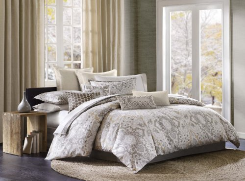 Echo Odyssey 4-Piece Comforter Set, King, Multicolored