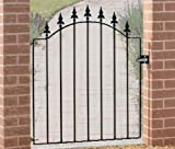 Metal garden gate Warwick 850-920MM OPENING X 1076MM HIGH