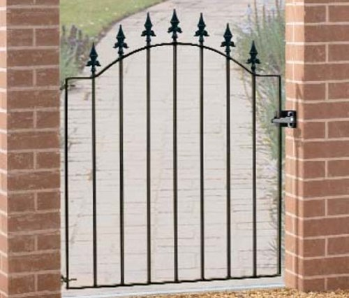 Metal garden gate Warwick 920-990MM OPENING X 1076MM HIGH