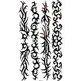 King Horse Wasserdicht Totem Tattoo-Aufkleber sexy Arm Armband Fußkettchen Armbänder feminin