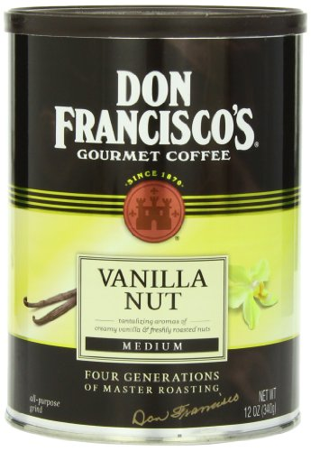 Don Francisco Vanilla Nut Coffee, 12 Ounce