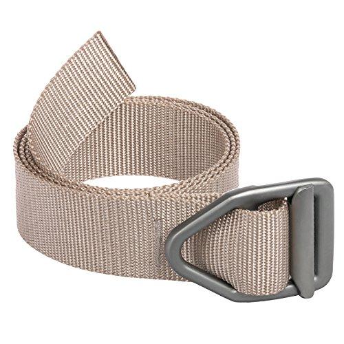 Bison Designs Light Duty Belt w/ Gunmetal Buckle (Desert Sand, Size XL)