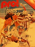img - for Pro! Dallas Cowboys vs. New York Giants (Oct. 5) book / textbook / text book