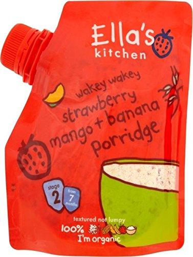 Ella'S Kitchen Organic Wakey Wakey Porridge With Strawberry, Mango & Banana 7Mth+ (150G)
