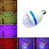 Party Light-LED Rotating Multi Color Light, Disco Light Colors Dance Parties, Birthday Parties, Bars