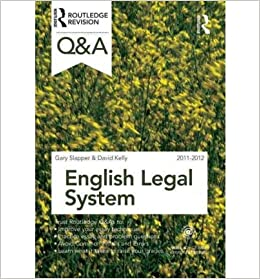english legal system sample answers Buy law express question and answer: english legal system (law express questions & answers): read kindle store reviews - amazoncom.