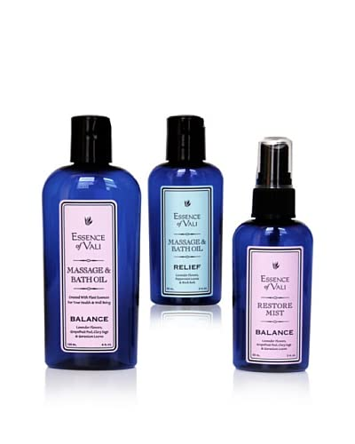 Essence of Vali Balance and Relief for Women 3-Piece Set with Pump