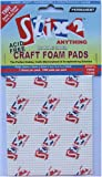 Stix2 Craft Foam Pads Pack of 1360, Double Sided Adhesive - 3mm x 3mm x 2mm