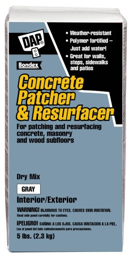 Dap 10466 Concrete Patcher and Resurfacer 5-Pound