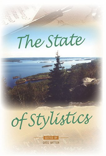 The State of Stylistics. (Pala Papers)