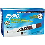 Expo Original Dry Erase Markers, Chisel Tip, 12-Pack, Brown