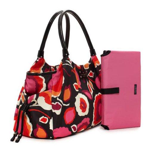 Kate Spade Stevie Baby Bag Giza Diaper Bag/ Shoulder Bag (Multi-Color) Msrp $418 #Pxru3633 front-474357
