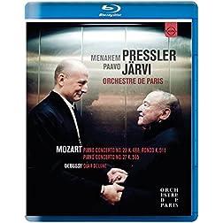 Menahem Pressler - Paavo Järvi - Orchestre de Paris [Blu-ray]