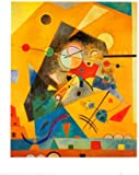 Quiet Harmony Art Poster Print by Wassily Kandinsky, 16x20