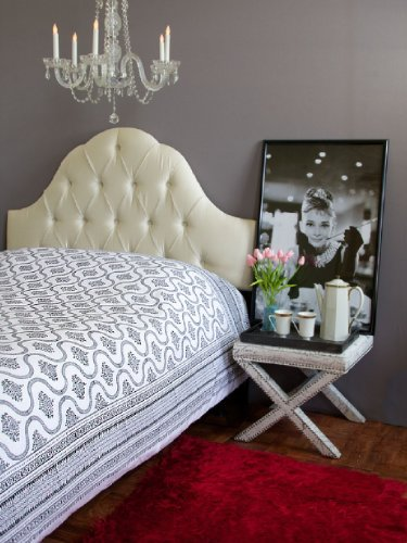 Black And White Vintage Bedding front-821984